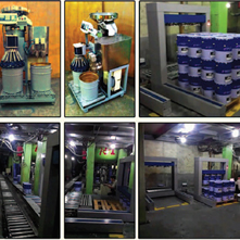 ArtHTek - Automatic Machine - Conveying and barrel packaging